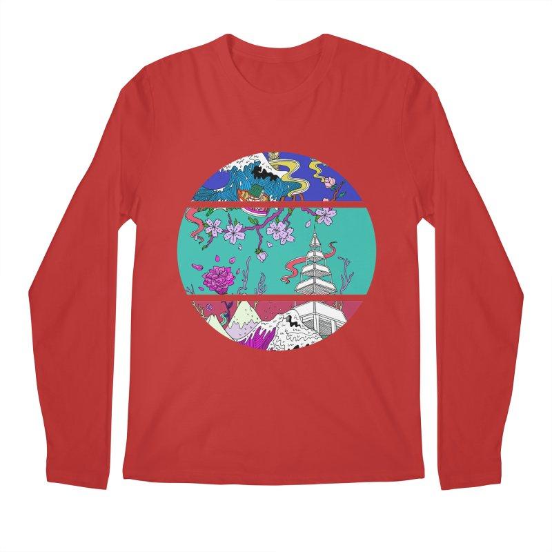 Dreamscape Men's Longsleeve T-Shirt by katherineliu's Artist Shop