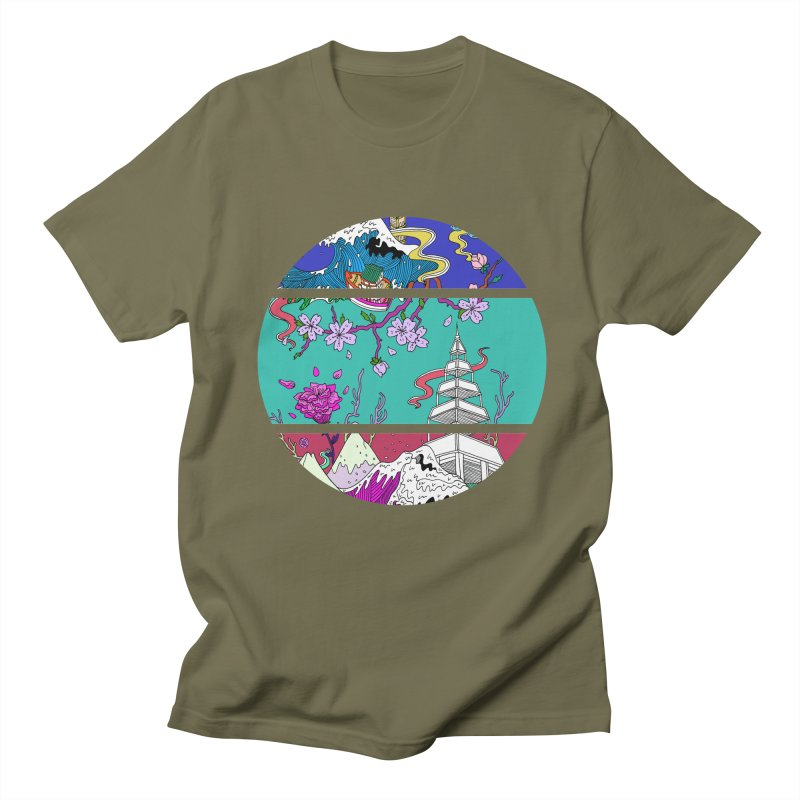 Dreamscape Women's Unisex T-Shirt by katherineliu's Artist Shop