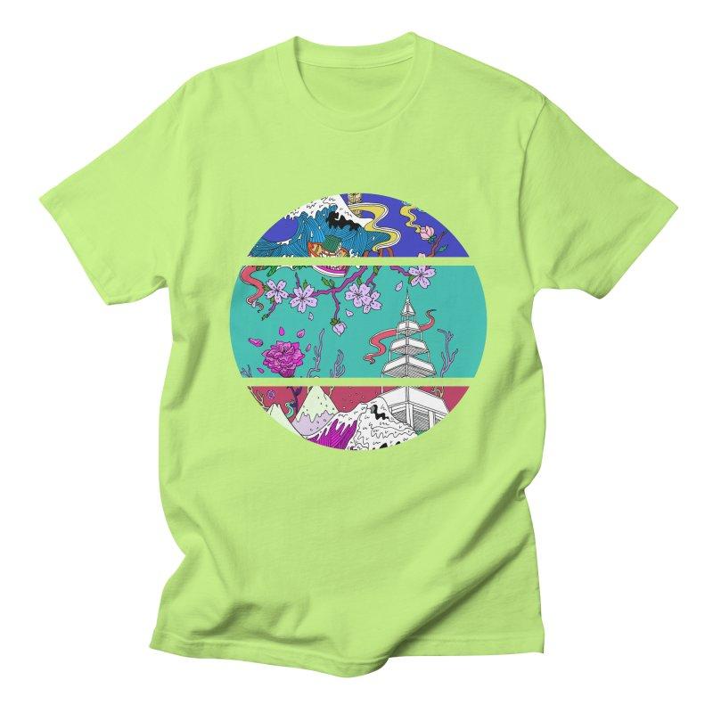 Dreamscape Men's T-Shirt by katherineliu's Artist Shop