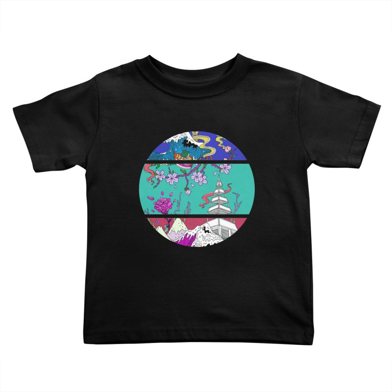 Dreamscape Kids Toddler T-Shirt by katherineliu's Artist Shop