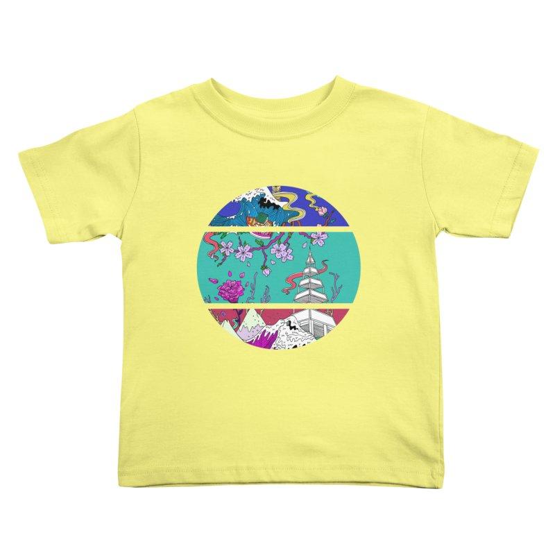 Dreamscape Kids Toddler T-Shirt by katherineliu's Artist Shop