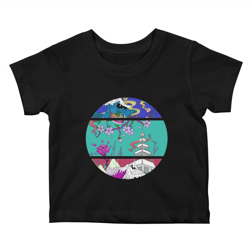 Dreamscape Kids Baby T-Shirt by katherineliu's Artist Shop
