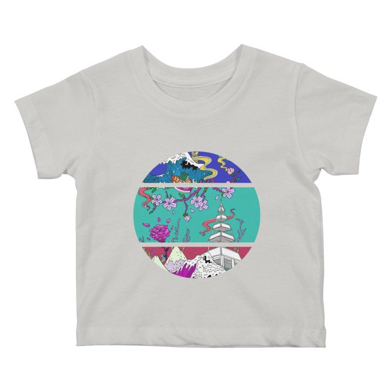 Dreamscape Kids Baby T-Shirt by katherineliu's Artist Shop