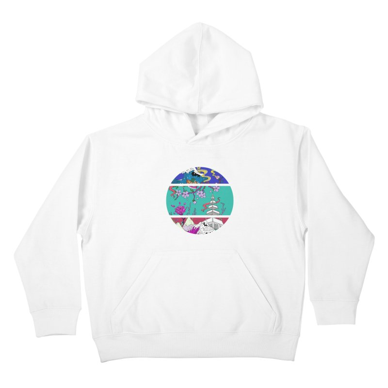 Dreamscape Kids Pullover Hoody by katherineliu's Artist Shop