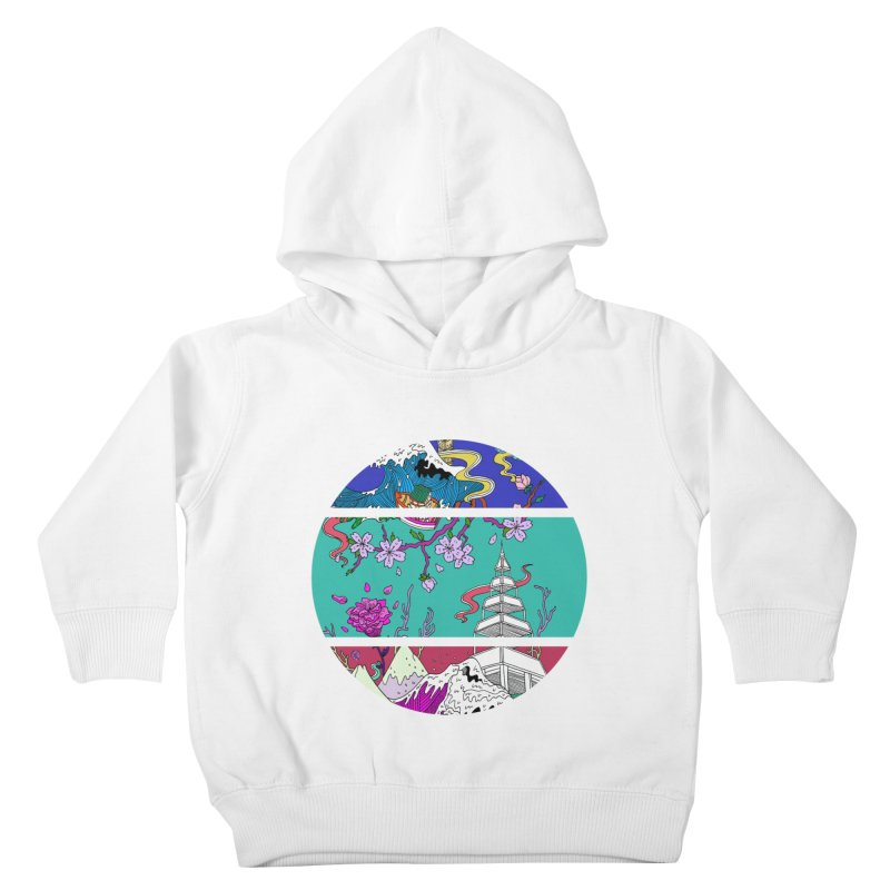 Dreamscape Kids Toddler Pullover Hoody by katherineliu's Artist Shop