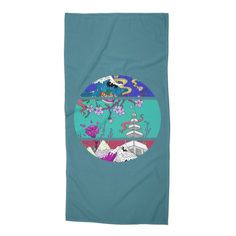 Dreamscape Accessories Beach Towel by katherineliu's Artist Shop