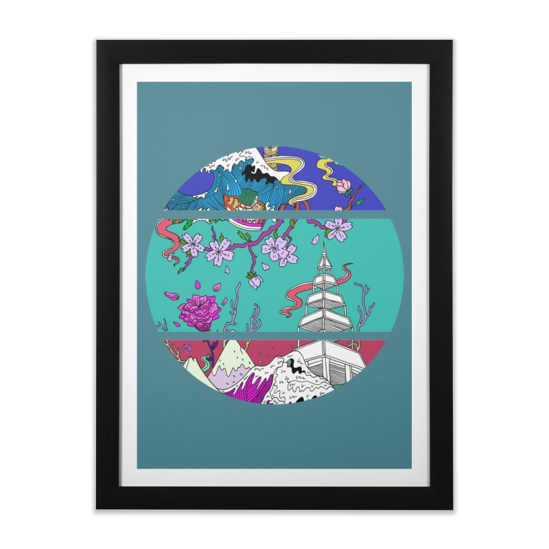 Dreamscape Home Framed Fine Art Print by katherineliu's Artist Shop