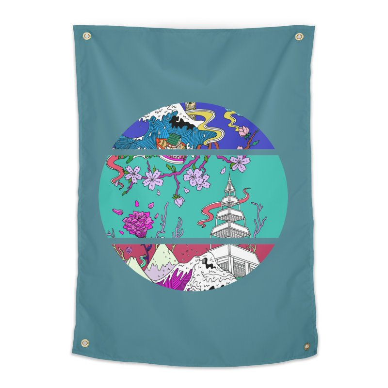 Dreamscape Home Tapestry by katherineliu's Artist Shop