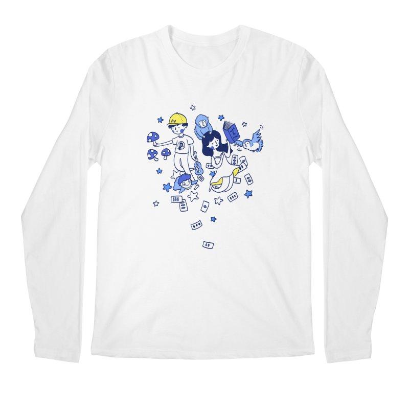 Explorations Men's Longsleeve T-Shirt by katherineliu's Artist Shop