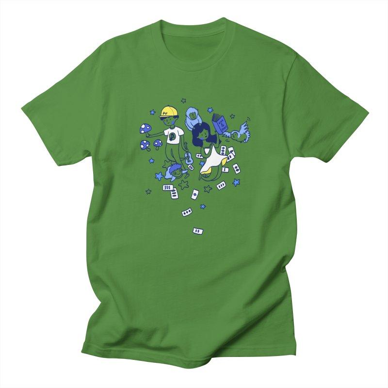 Explorations Women's Unisex T-Shirt by katherineliu's Artist Shop