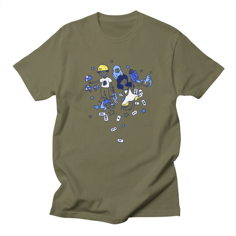 Explorations Men's T-shirt by katherineliu's Artist Shop