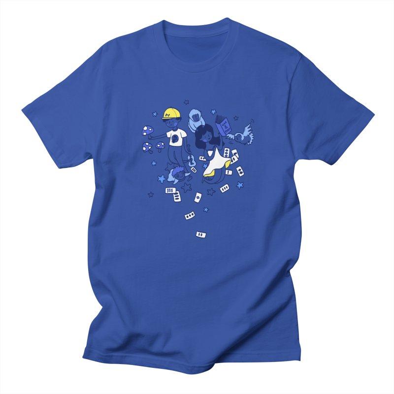 Explorations Men's T-Shirt by katherineliu's Artist Shop