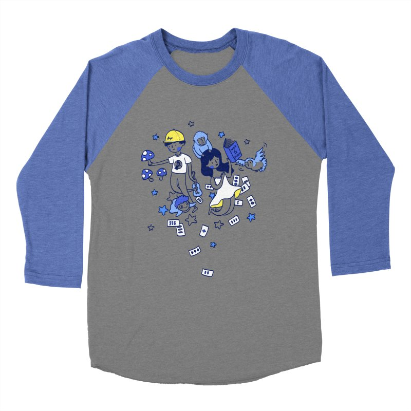 Explorations Women's Baseball Triblend T-Shirt by katherineliu's Artist Shop