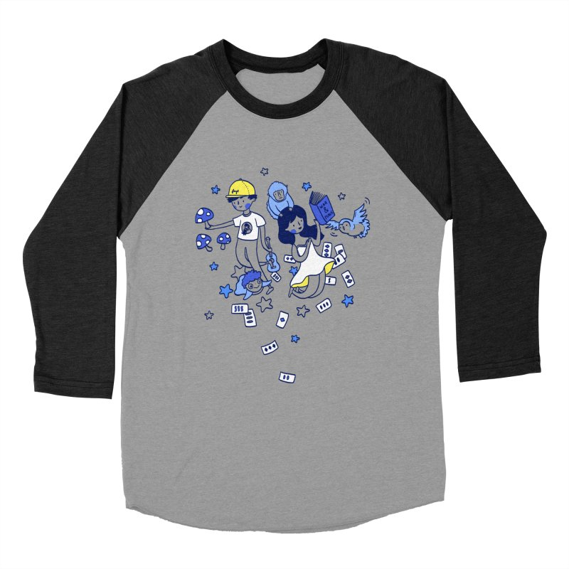 Explorations Women's Baseball Triblend T-Shirt by katherineliu's Artist Shop