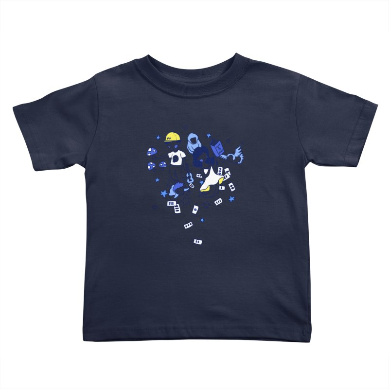 Explorations Kids Toddler T-Shirt by katherineliu's Artist Shop