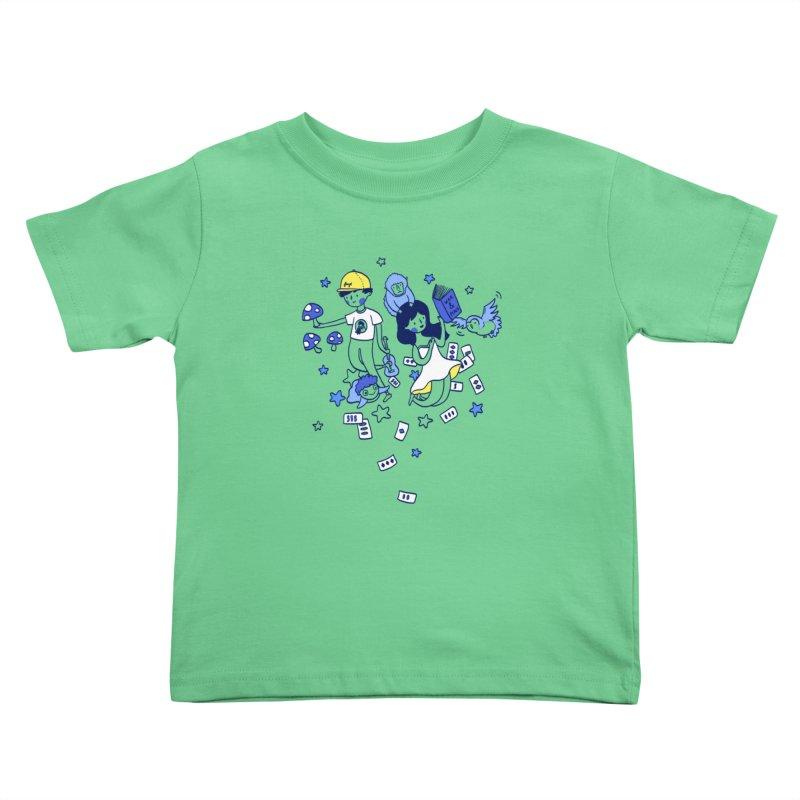 Explorations Kids Toddler T-Shirt by katherineliu's Artist Shop