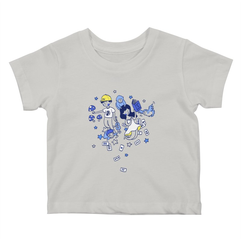 Explorations Kids Baby T-Shirt by katherineliu's Artist Shop