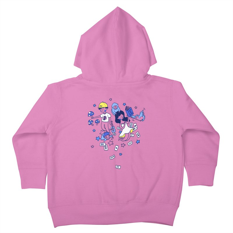 Explorations Kids Toddler Zip-Up Hoody by katherineliu's Artist Shop