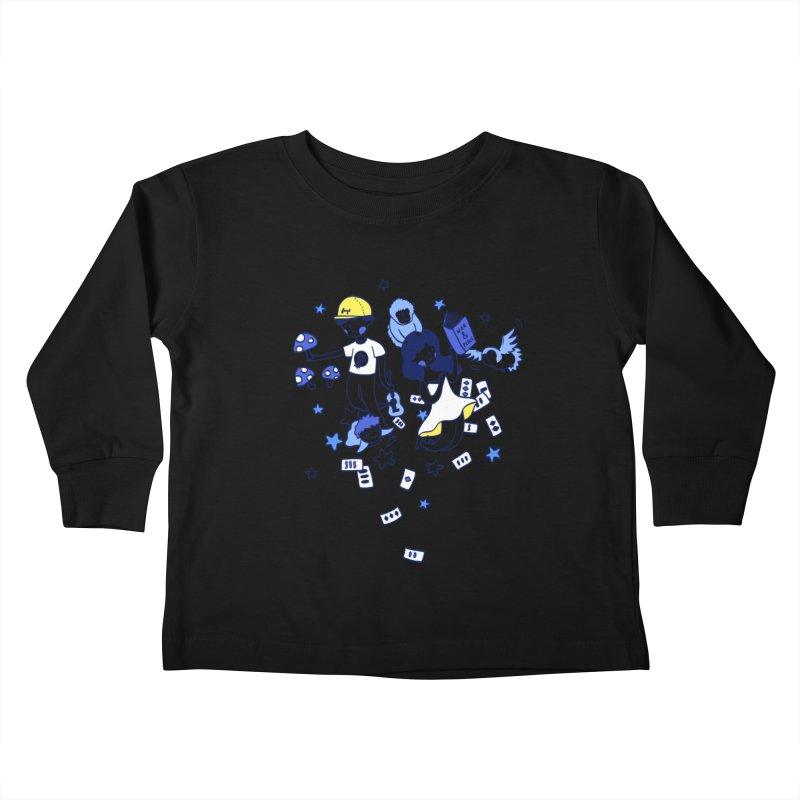 Explorations Kids Toddler Longsleeve T-Shirt by katherineliu's Artist Shop