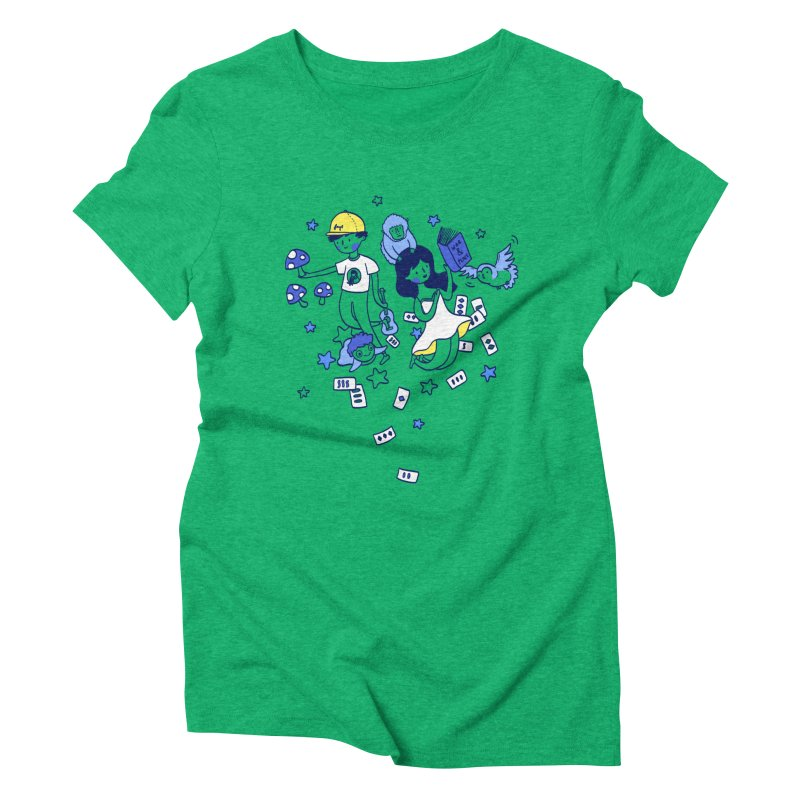 Explorations Women's Triblend T-shirt by katherineliu's Artist Shop