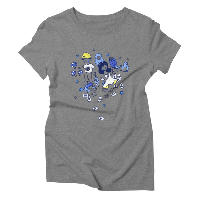 Explorations Women's Triblend T-Shirt by katherineliu's Artist Shop