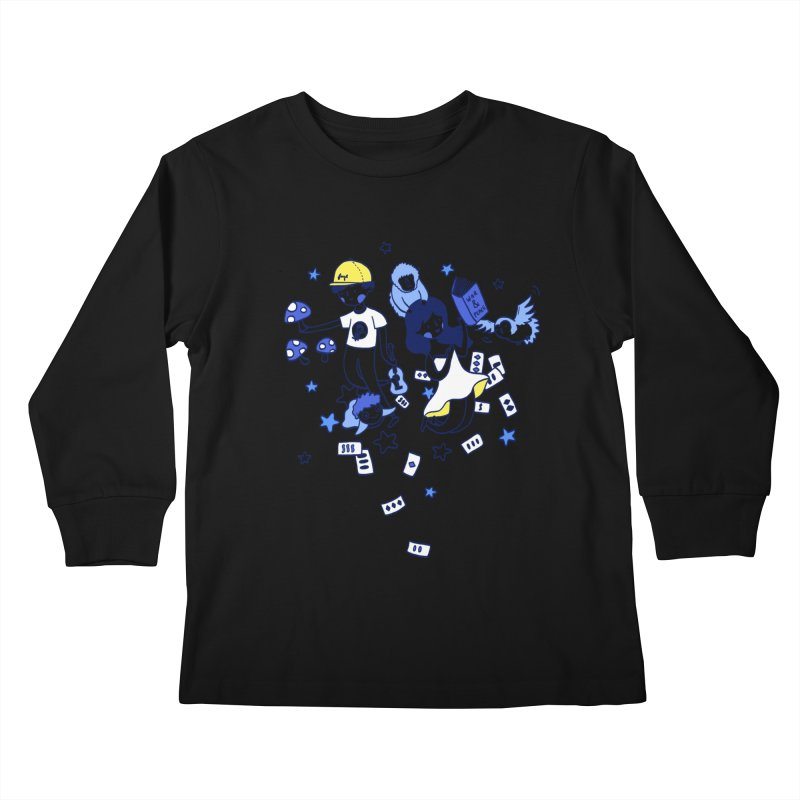 Explorations Kids Longsleeve T-Shirt by katherineliu's Artist Shop