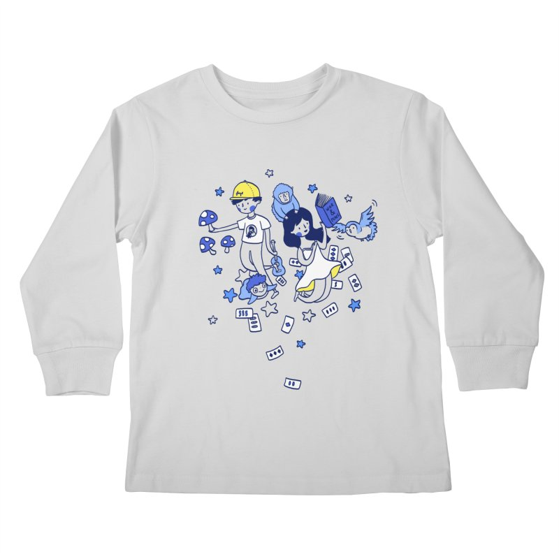 Explorations Kids Longsleeve T-Shirt by katherineliu's Artist Shop
