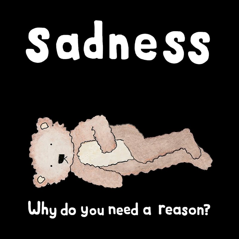 Sadness: Why Do You Need a Reason? Home Rug by kathleenfounds's Artist Shop