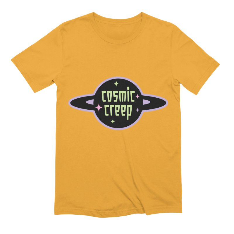 Cosmic Creep Men's Extra Soft T-Shirt by kathudsonart's Artist Shop