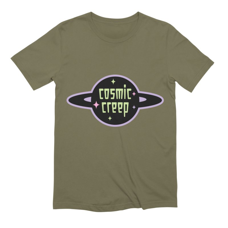 Cosmic Creep Men's Extra Soft T-Shirt by kathudsonart's Artist Shop