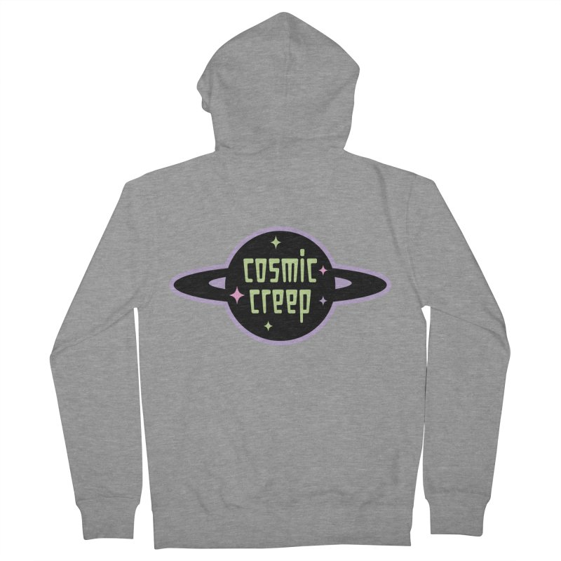 Cosmic Creep Men's French Terry Zip-Up Hoody by kathudsonart's Artist Shop