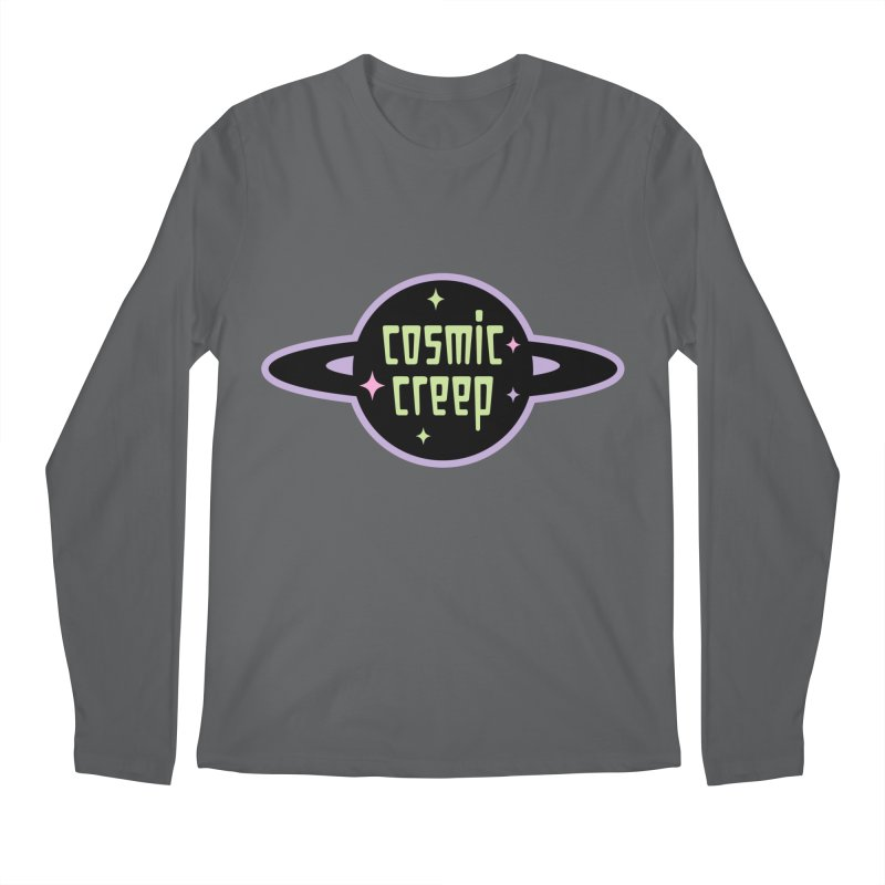 Cosmic Creep Men's Regular Longsleeve T-Shirt by kathudsonart's Artist Shop