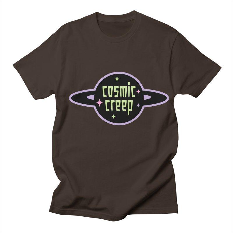 Cosmic Creep Men's Regular T-Shirt by kathudsonart's Artist Shop