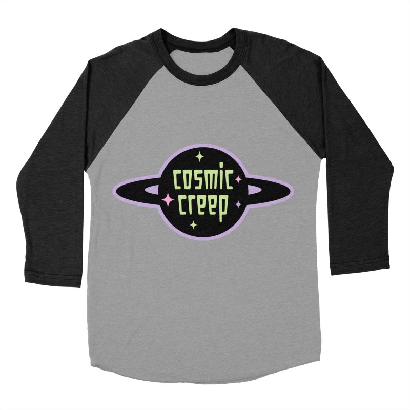 Cosmic Creep Women's Baseball Triblend Longsleeve T-Shirt by kathudsonart's Artist Shop