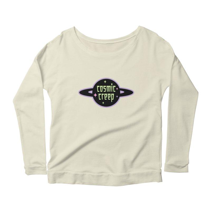 Cosmic Creep Women's Scoop Neck Longsleeve T-Shirt by kathudsonart's Artist Shop