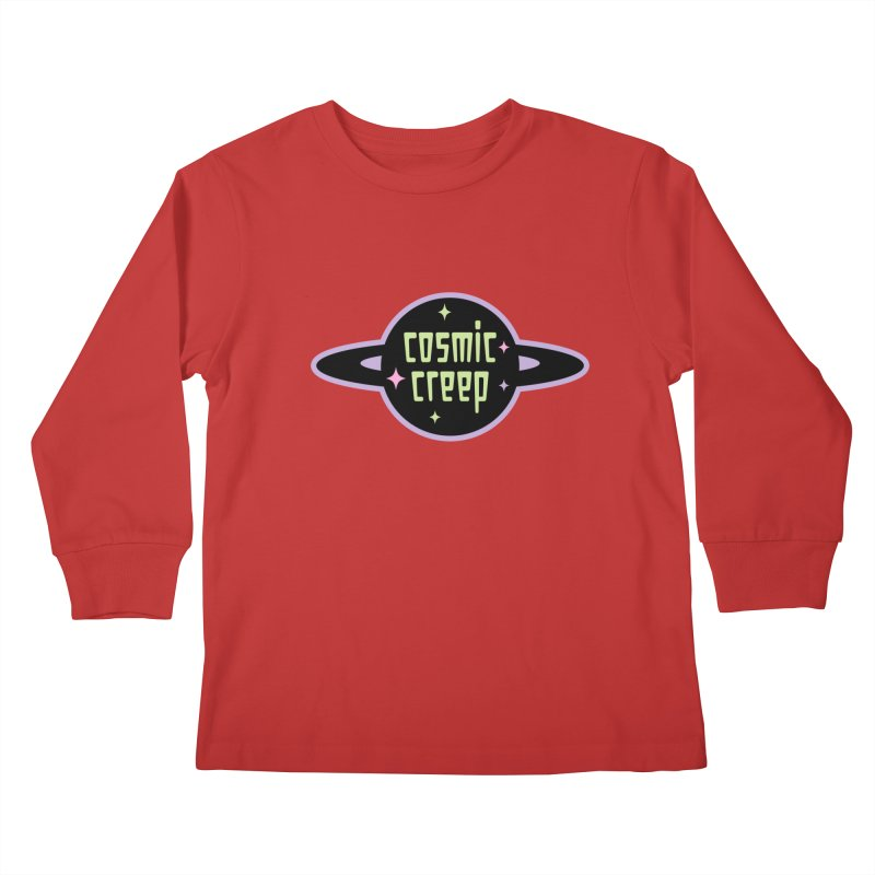 Cosmic Creep Kids Longsleeve T-Shirt by kathudsonart's Artist Shop