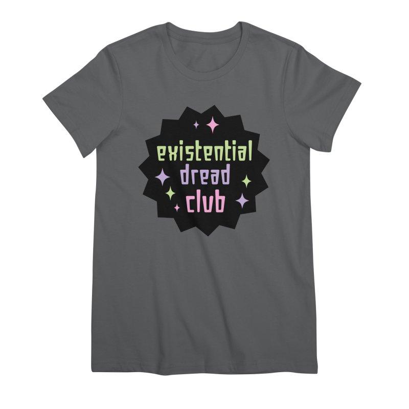 Existential Dread Women's Premium T-Shirt by kathudsonart's Artist Shop