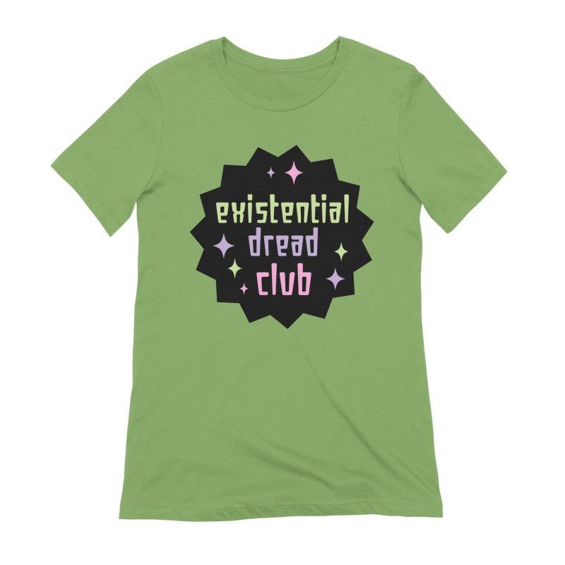 Existential Dread Women's Extra Soft T-Shirt by kathudsonart's Artist Shop