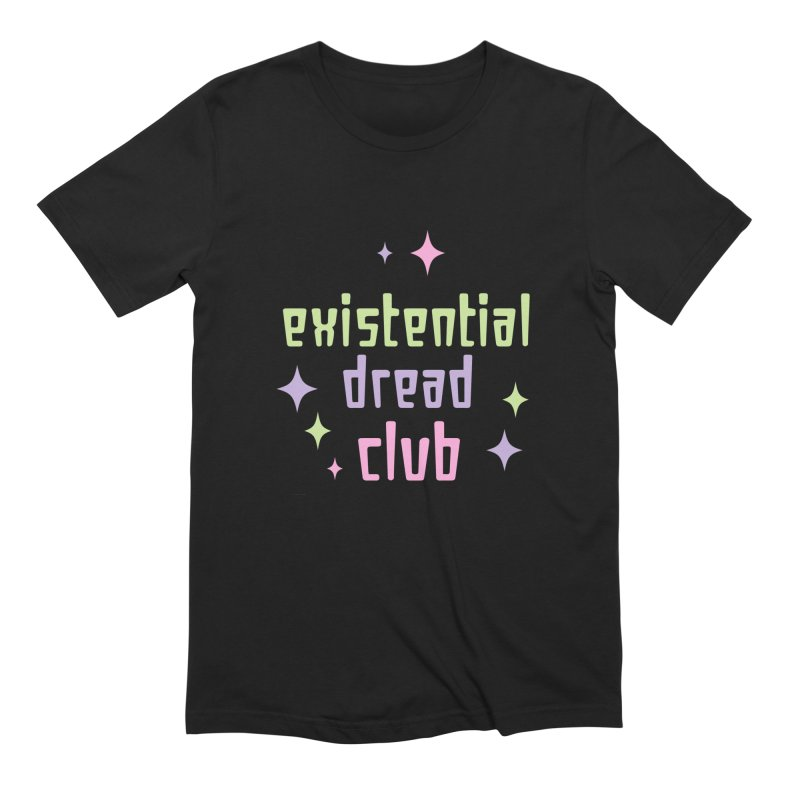 Existential Dread Men's Extra Soft T-Shirt by kathudsonart's Artist Shop