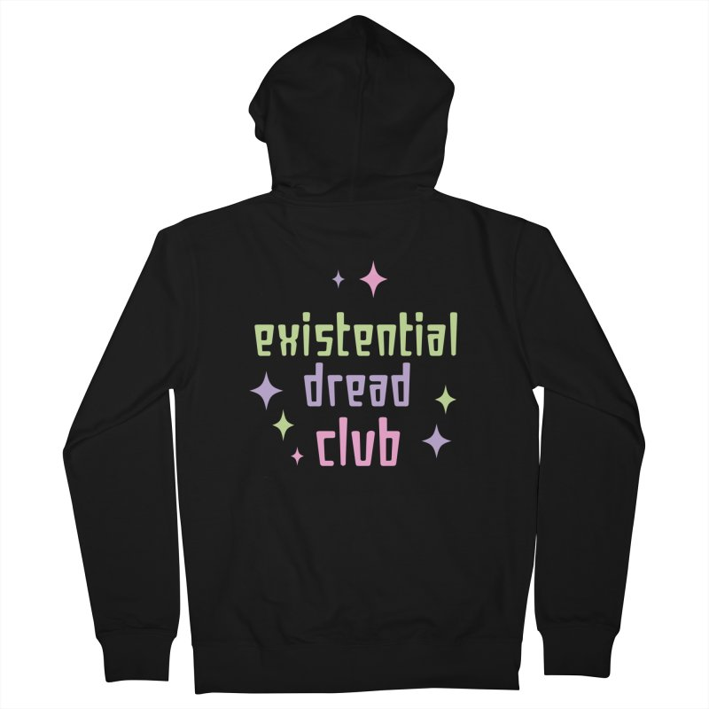 Existential Dread Women's French Terry Zip-Up Hoody by kathudsonart's Artist Shop