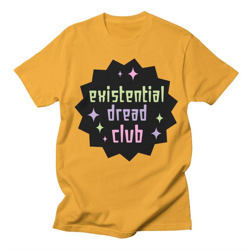 Existential Dread Men's Regular T-Shirt by kathudsonart's Artist Shop