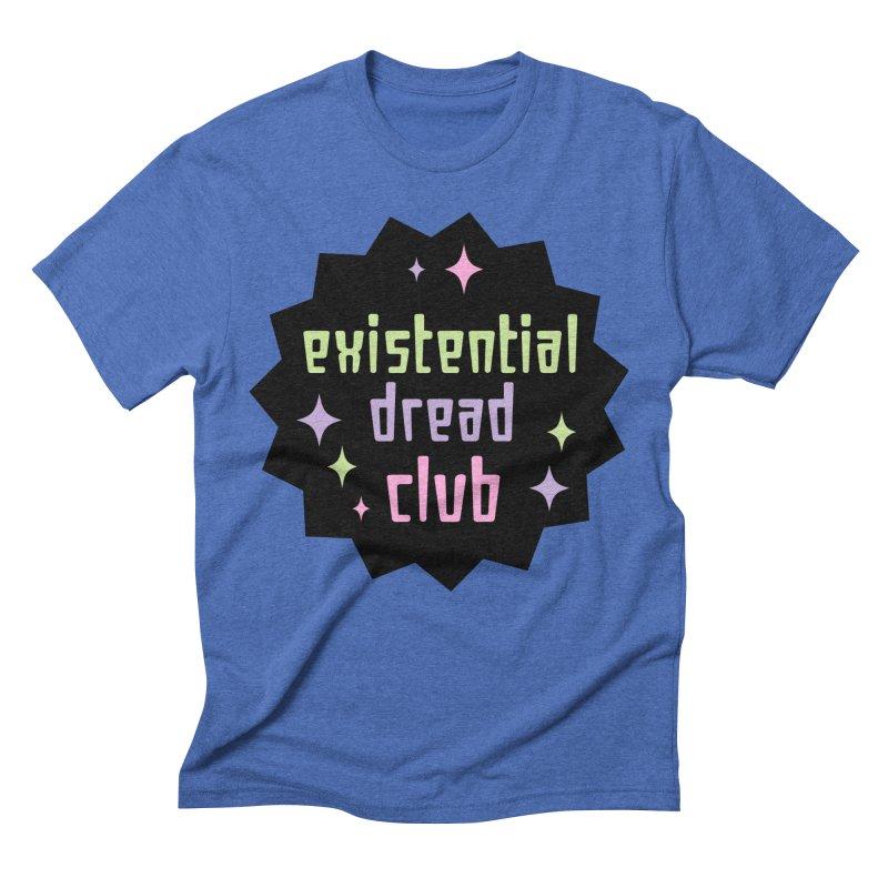 Existential Dread Men's Triblend T-Shirt by kathudsonart's Artist Shop