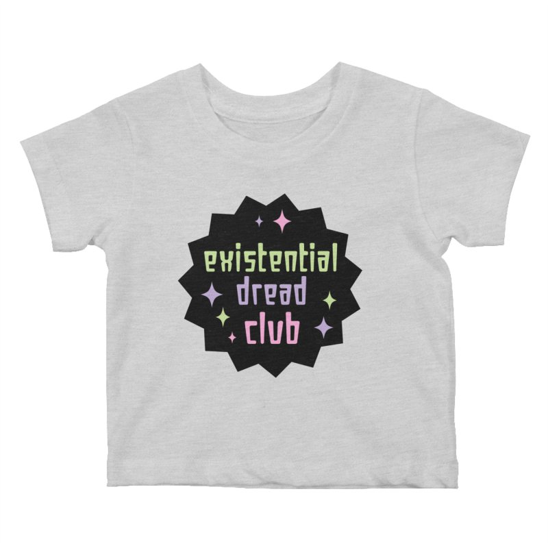 Existential Dread Kids Baby T-Shirt by kathudsonart's Artist Shop