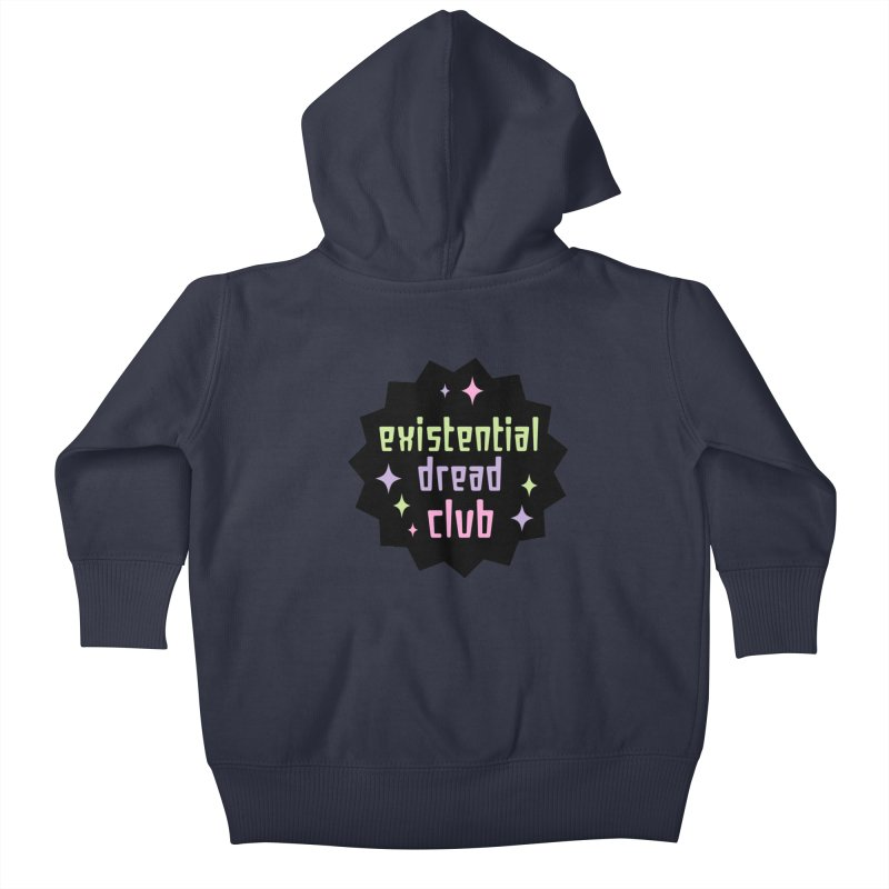 Existential Dread Kids Baby Zip-Up Hoody by kathudsonart's Artist Shop