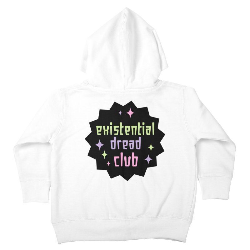 Existential Dread Kids Toddler Zip-Up Hoody by kathudsonart's Artist Shop
