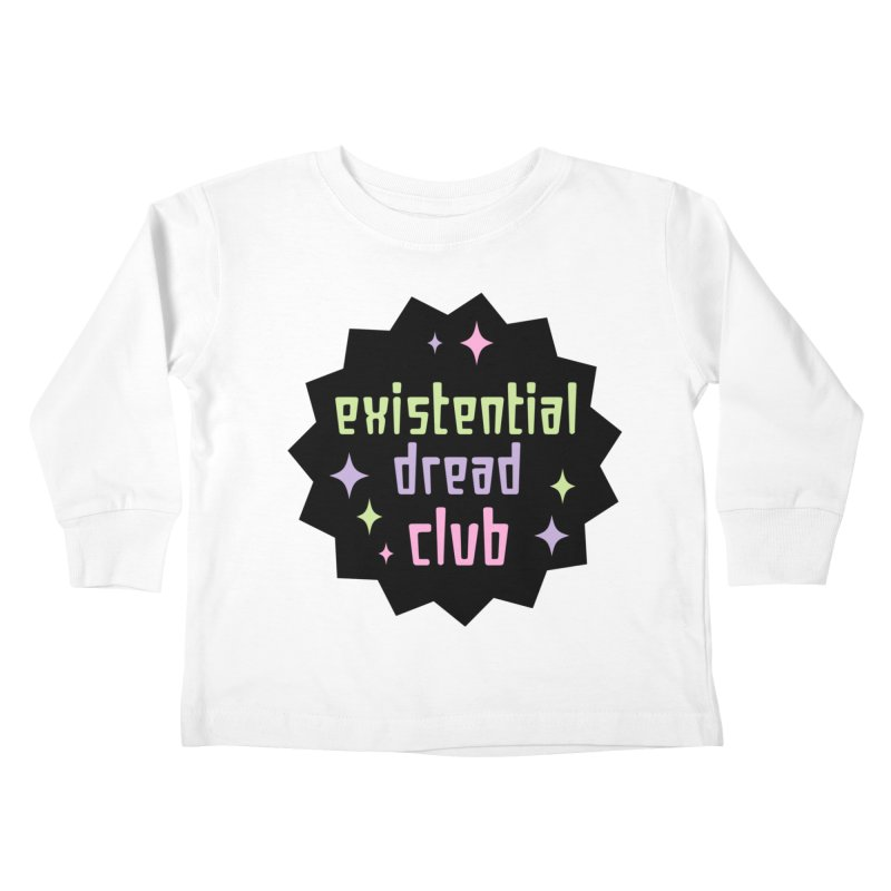 Existential Dread Kids Toddler Longsleeve T-Shirt by kathudsonart's Artist Shop
