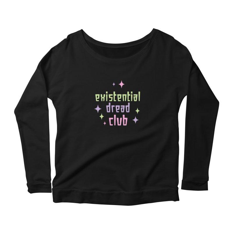 Existential Dread Women's Scoop Neck Longsleeve T-Shirt by kathudsonart's Artist Shop