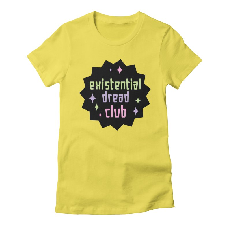 Existential Dread Women's Fitted T-Shirt by kathudsonart's Artist Shop