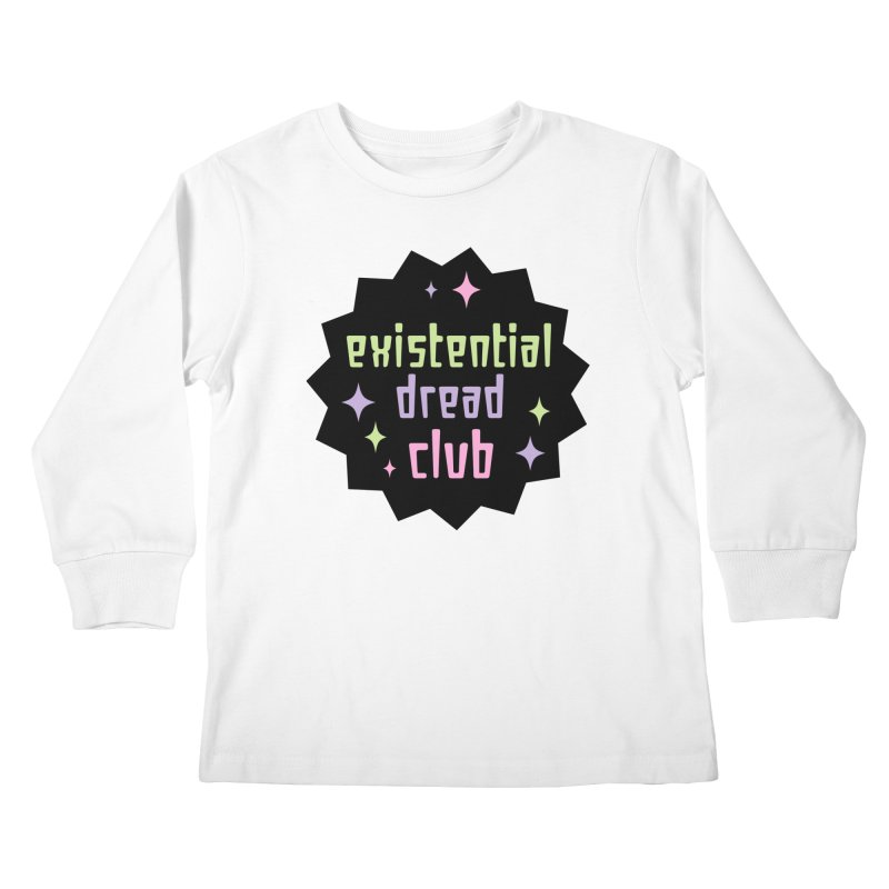Existential Dread Kids Longsleeve T-Shirt by kathudsonart's Artist Shop