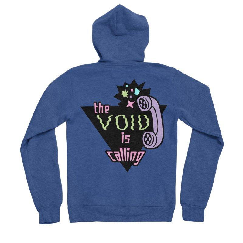 The Void Women's Sponge Fleece Zip-Up Hoody by kathudsonart's Artist Shop